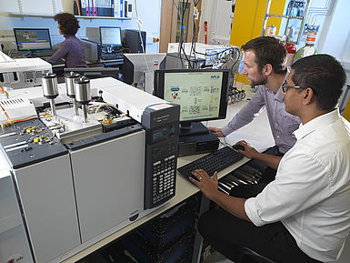 Researchers at NPL working towards the development of new measurement techniques